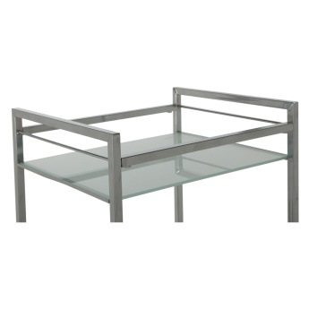Glass Shelf Trolley