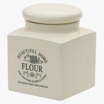 Beautiful Home Flour Jar