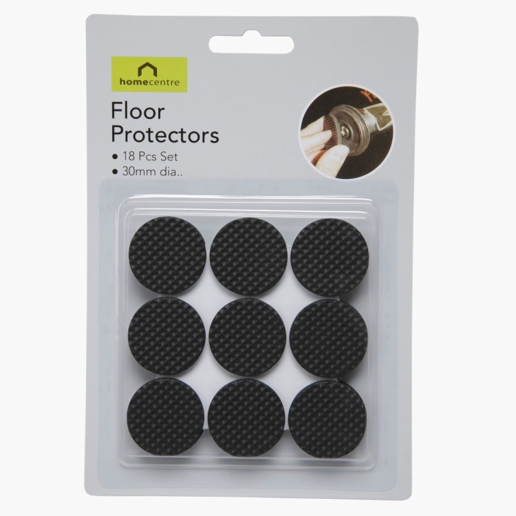 Protecting 18-piece Floor Pad Set 30 mm