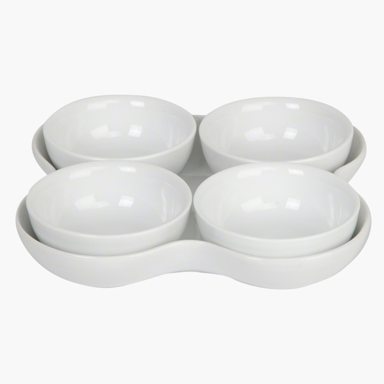 Veton Plate and Bowl - Set of 5