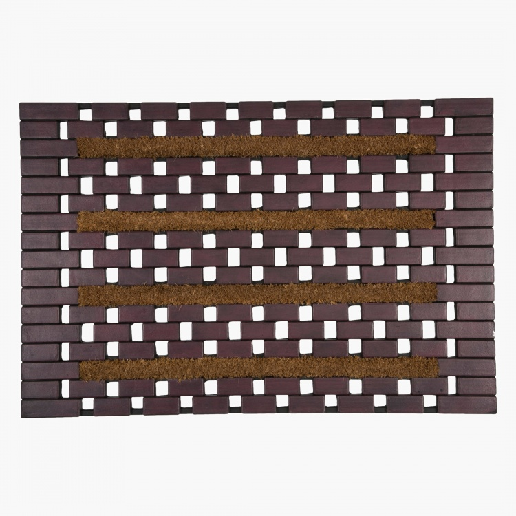 Wood Block Eco Friendly Mat - 50x75 cm