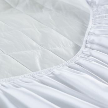 Micro Fibre Waterproof Mattress Protector - 180x210 cms