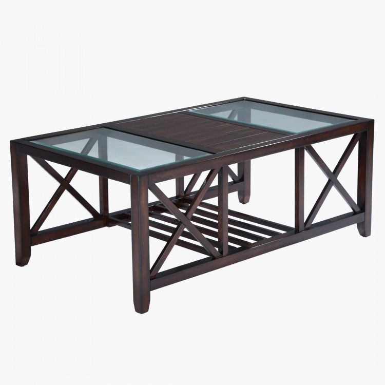 Asher Coffee Table with 2 Stools
