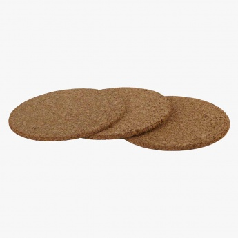Cork Trivets - Set of 3