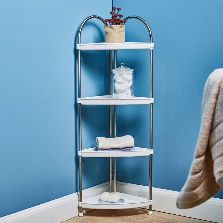Stainless Steel 4-Tier Bath Rack