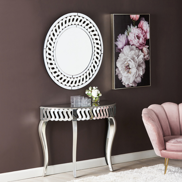 Ellora Console with Mirror