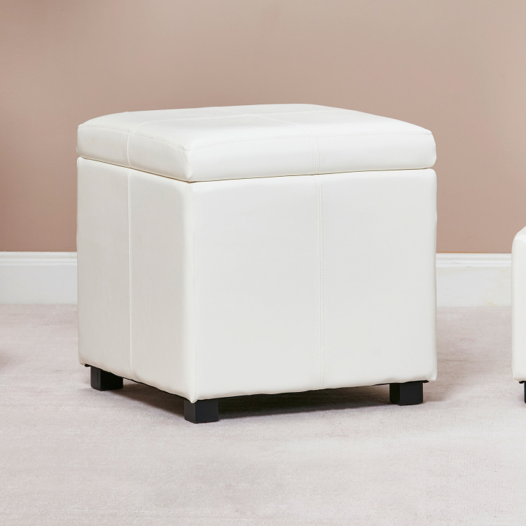 Frost Ottoman with Storage