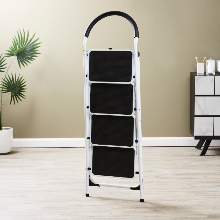Four-step Bathroom Ladder
