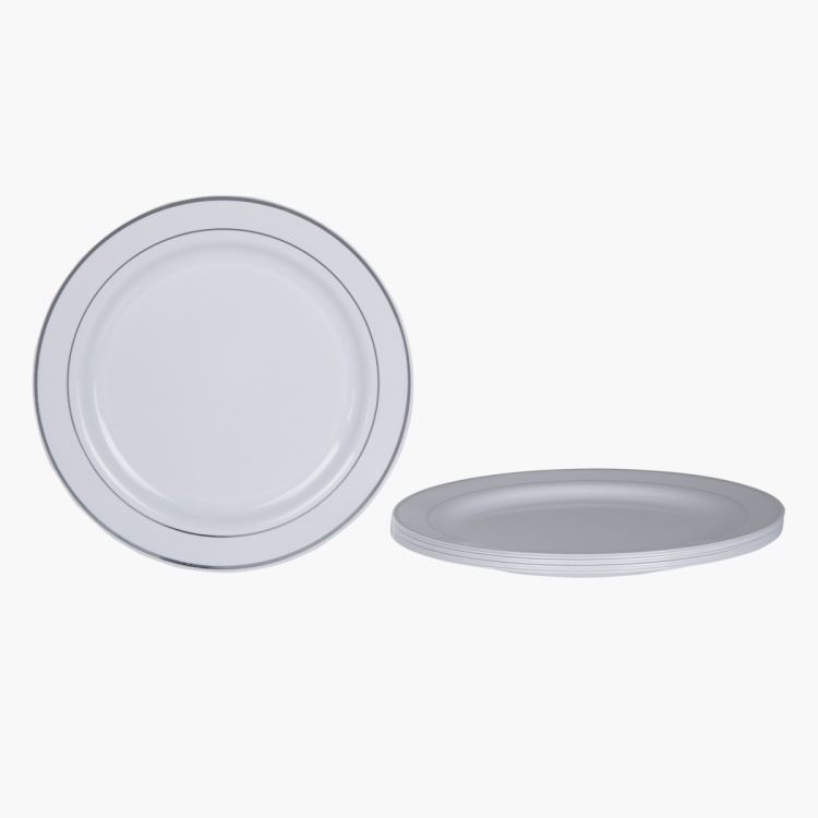 Disposable Dinner Plates - Set of 8