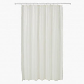 Striped Shower Curtain - 180x180 cms