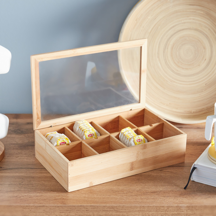Tea Bag Box with Transparent Lid