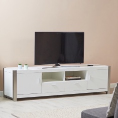 Frost 2-Drawer TV Unit with 2-Doors