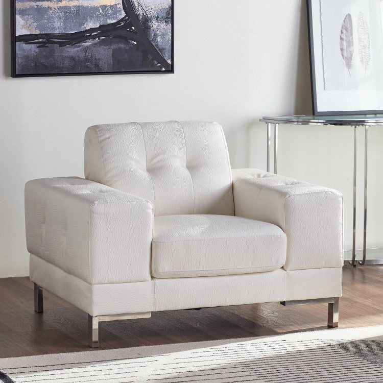 Betrib Faux Leather Armchair
