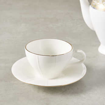 Gold Bliss Tea Cup and Saucer
