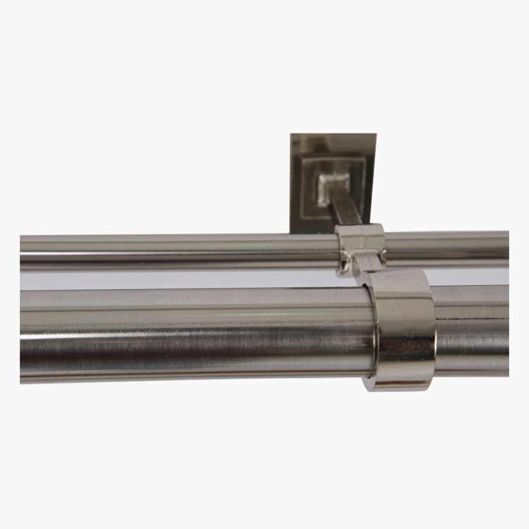 Onyx Ball Curtain Double Rod - 32 mm