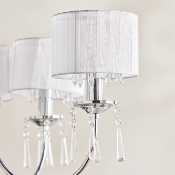 Medalion Embellished 8-Light Chandelier
