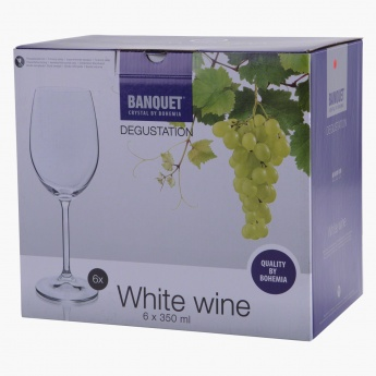 Banquet Degustation White Wine Glass - Set of 6