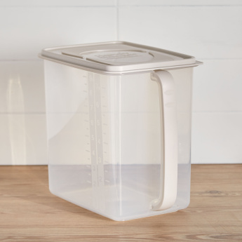 Easy Access Storage Box with Handle and Lid - 9.7 L