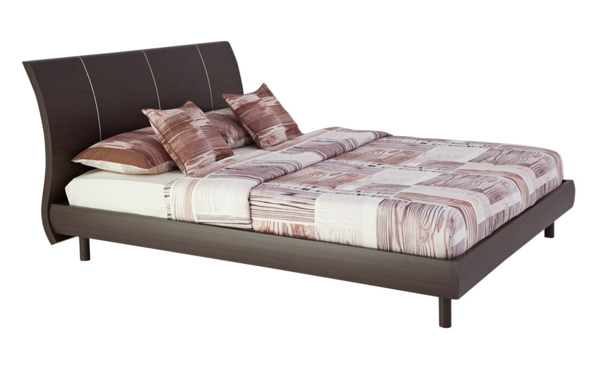 Burband Queen Bed 155x205 Cms Black