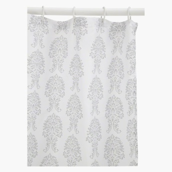 Damask Shower Curtain - 180x180 cms