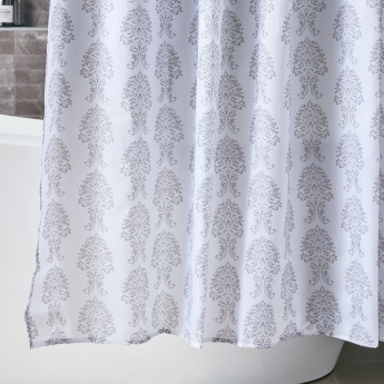 Damask Wide Shower Curtain - 240x180 cms