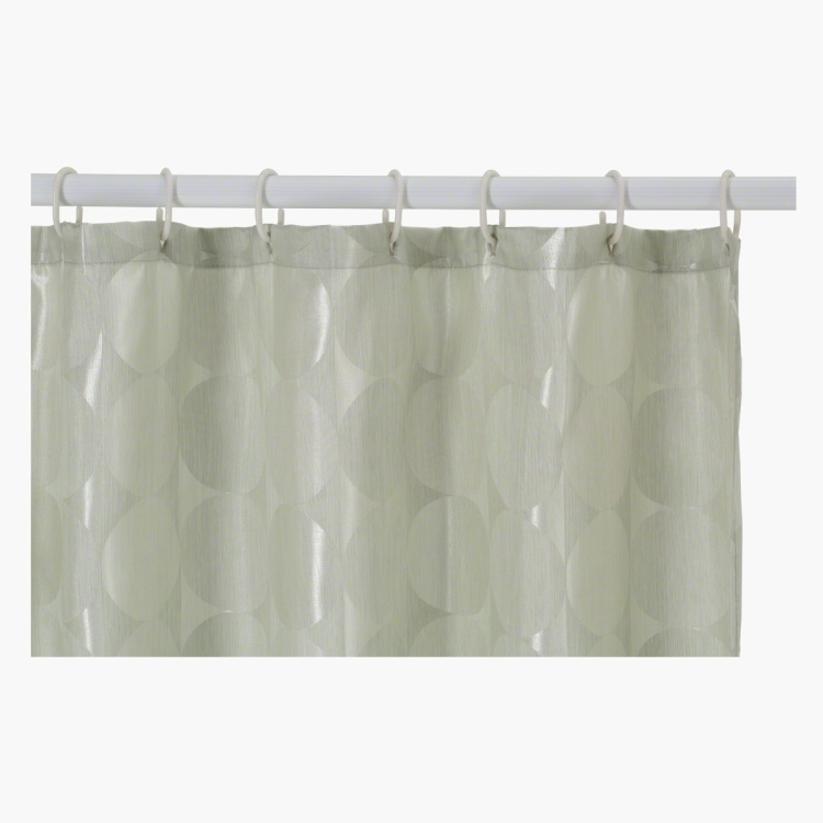 Circle Shower Curtain - 180x180 cms