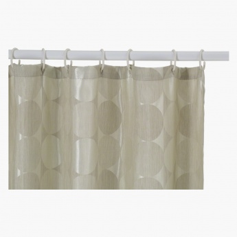 Circle Shower Curtain - 240x180 cms