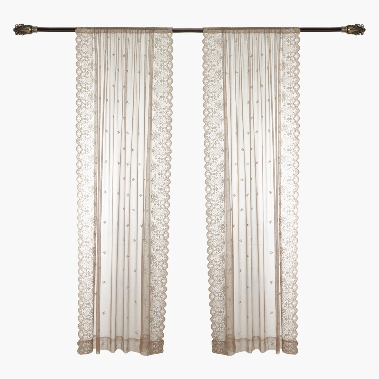 Victoria 2-piece Sheer Curtain Set - 150x240 cms