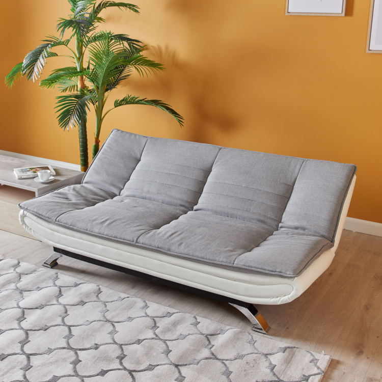 Faith 3-Seater Fabric Sofa Bed