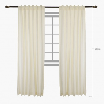 Empire 2-piece Curtain Set - 135x240 cms