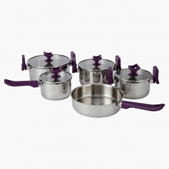 Lift and Pour 9-Piece Cookware Set