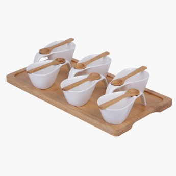 Naturelle Porcelain Dish - Set of 13