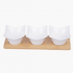Naturelle Sauce Dish - Set of 4