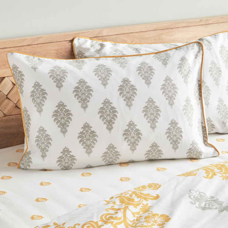 Carola 3-Piece Duvet Cover Set - 230x220 cms