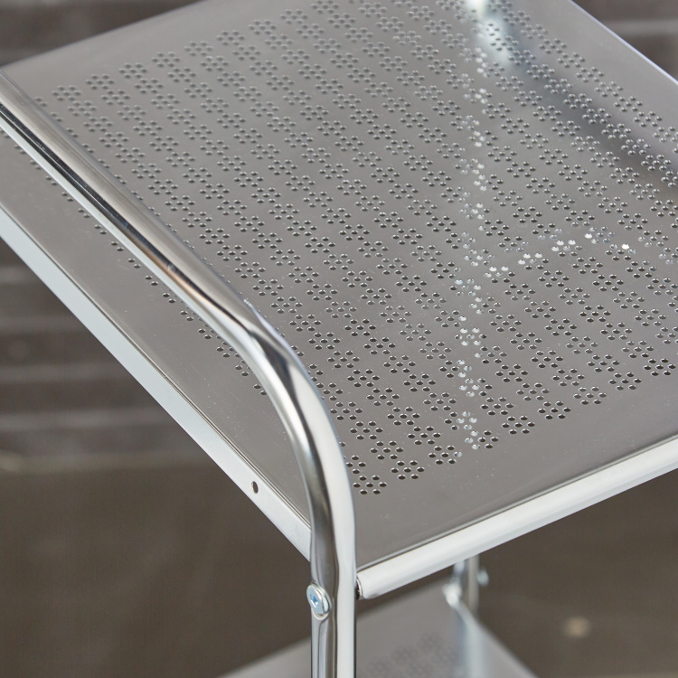 Stella 3-Tier Engraved Bathroom Storage Rack