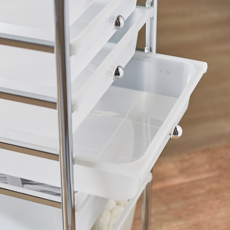 Connell 6-Drawer Storage Trolley