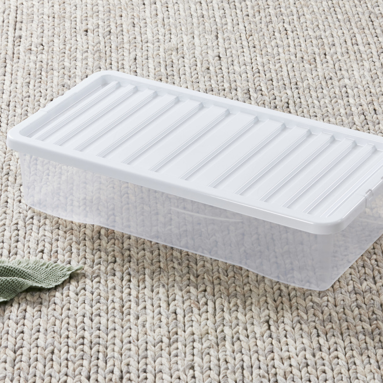 Crystal Underbed Box with Lid - 42 L