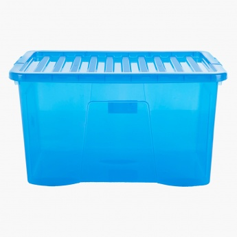 Crystal Laundry Box With Lid - 110 L