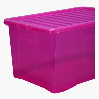 Crystal Box with Lid - 60x40x33 cms