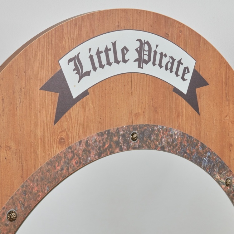 Little Pirate Bevelled Mirror
