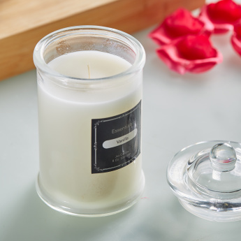 Essentials Scented Glass Jar Candle