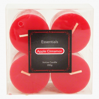 Essentials Scented Votive Candles - Set of 4