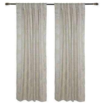 Sanver Curtain Pair - 140x240 cms