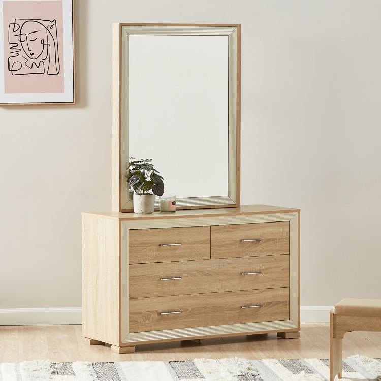 Hayden 6-Drawer Dresser with Mirror