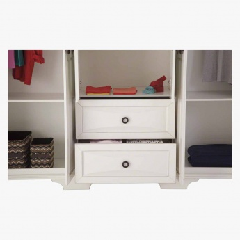 Donna Five-plus Door Wardrobe