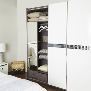 Helen Sliding 3-Door Wardrobe