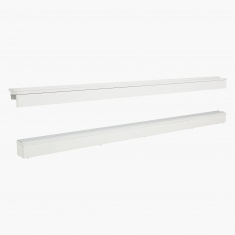 Continental Wardrobe Rail Set 180 cms