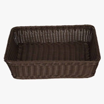 Mystique Rectangular Handwoven Cord Basket