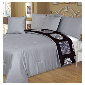 Adele 5-piece Queen Comforter Set - 200x240 cms