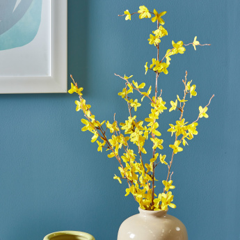 Forsythia Spray Artificial Flowers - 91 cms